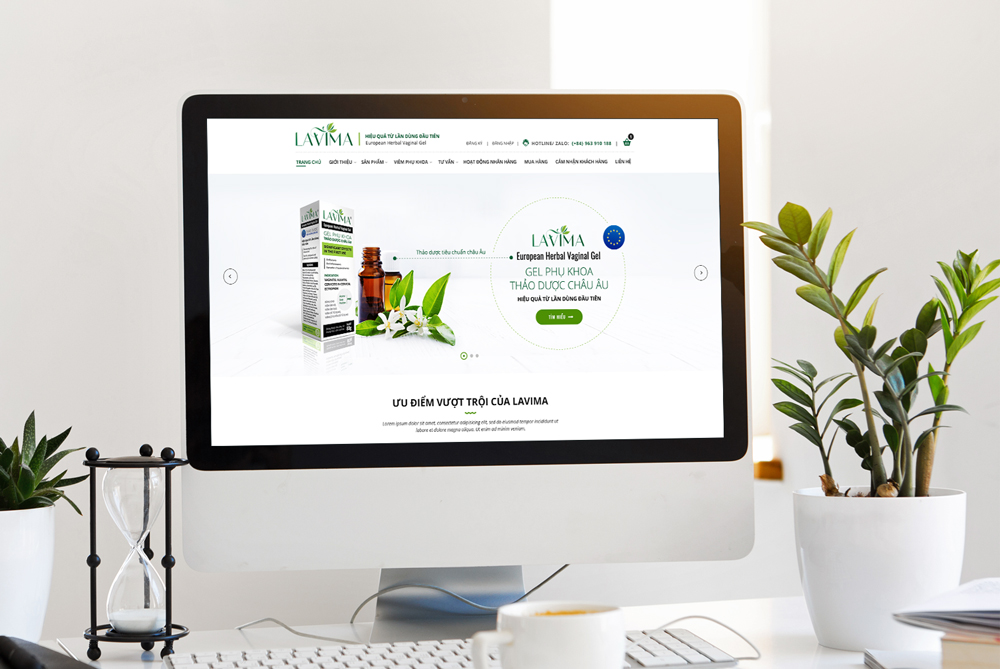 Lavima Website