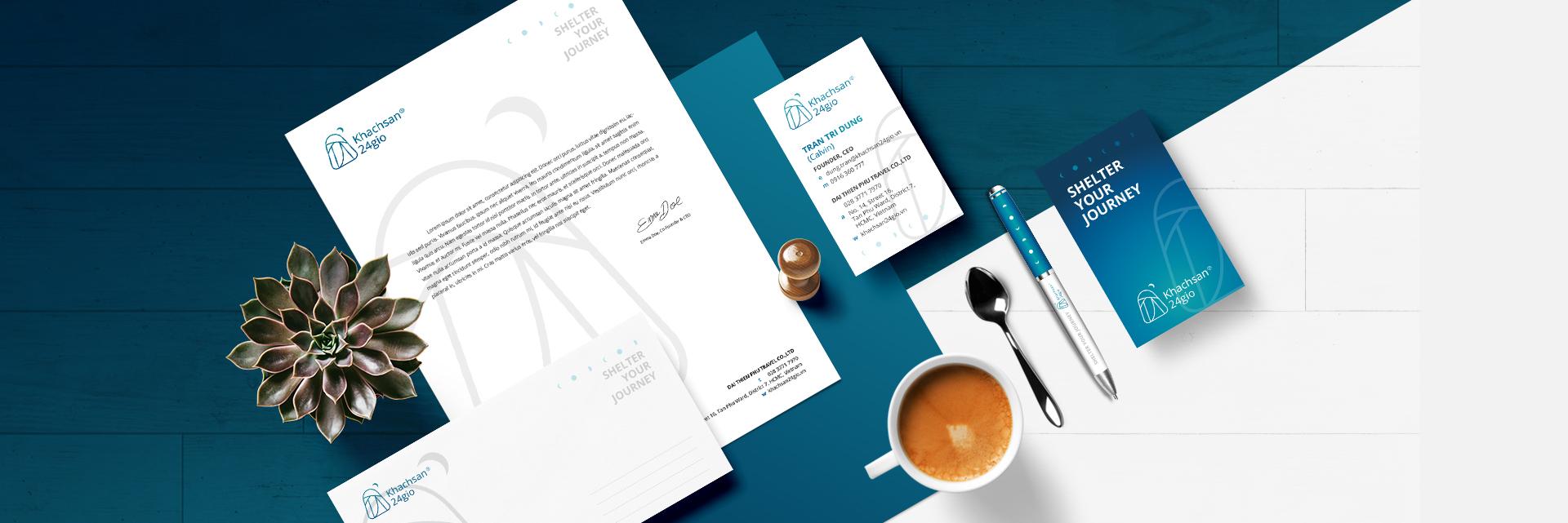 Thiết kế Logo – Hệ thống nhận diện