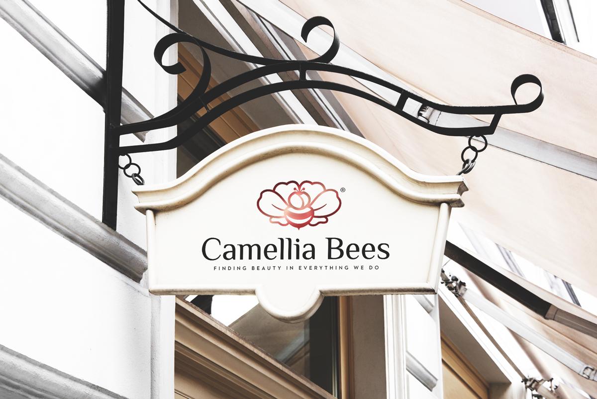 Thiet-ke-logo-camelliabees-1
