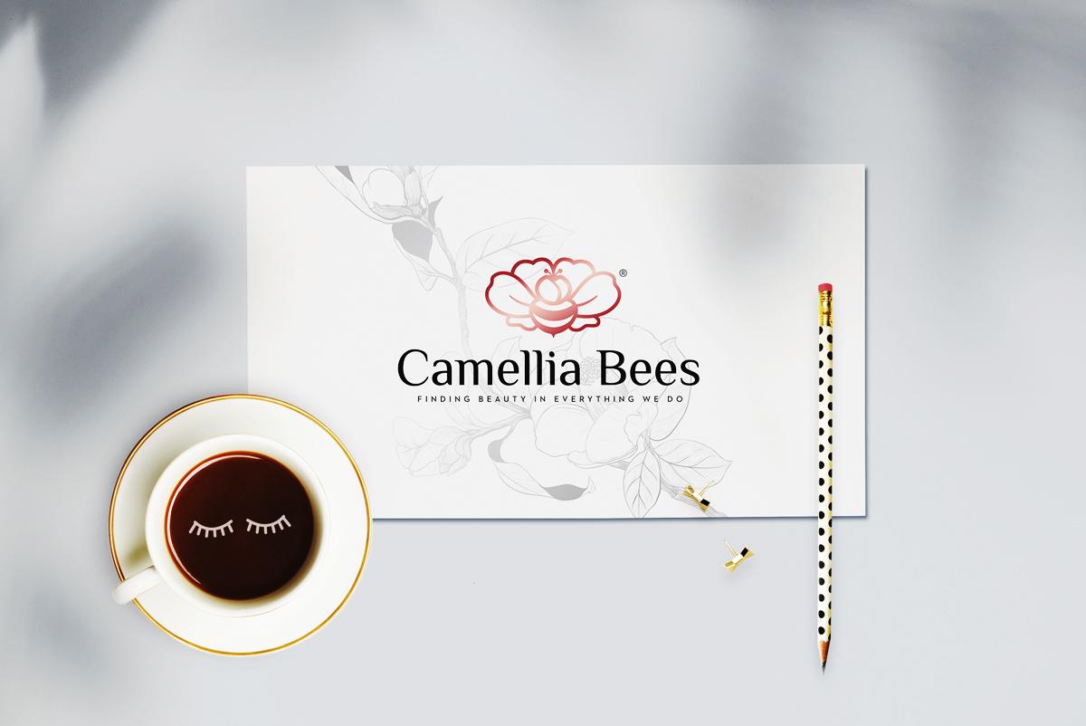 Thiet-ke-logo-camelliabees-3