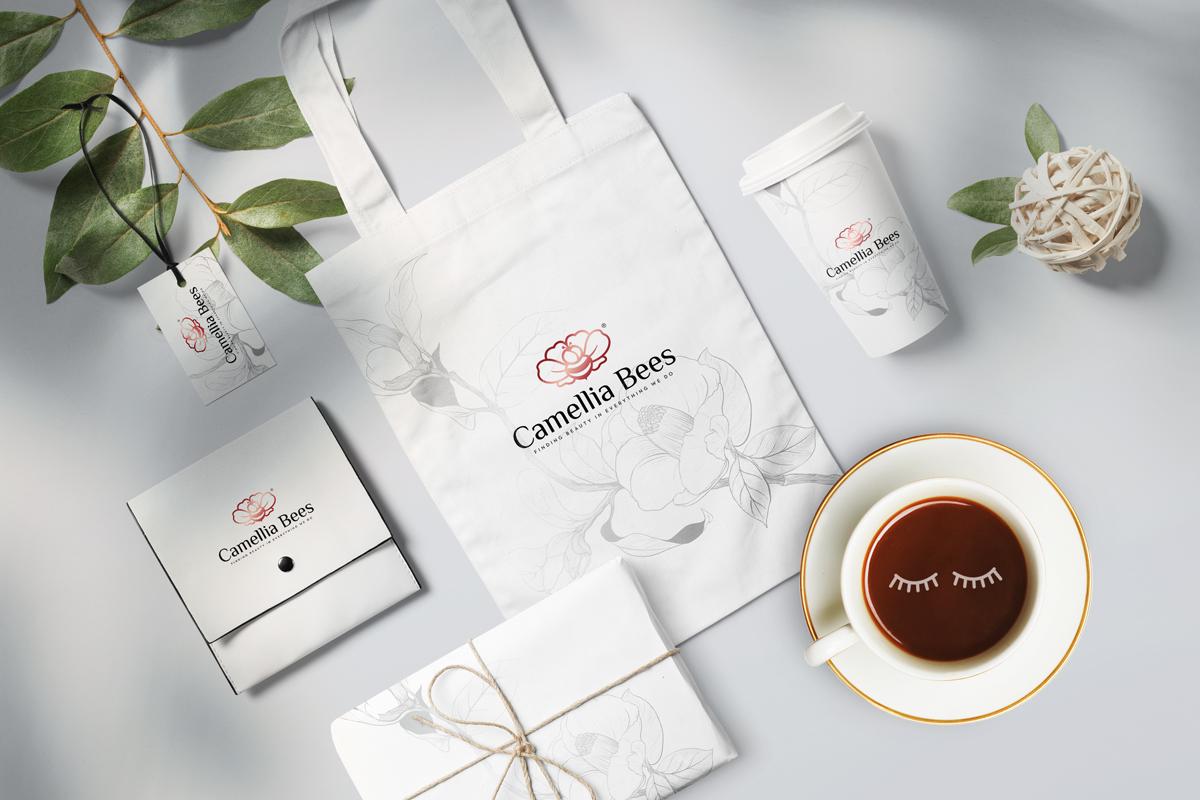 Thiet-ke-logo-camelliabees-5