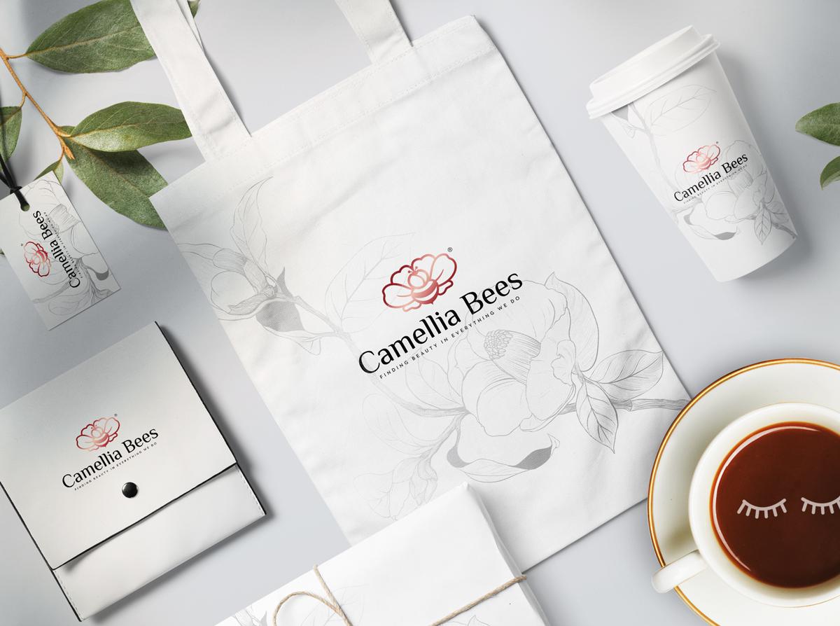 Thiet-ke-logo-camelliabees-9